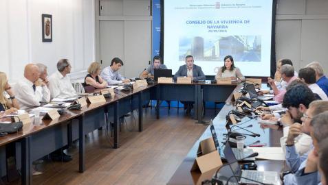 El nuevo Consejo de Vivienda de Navarra evaluará las políticas en esta materia