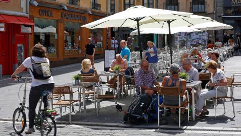 Sol y buen tiempo este sábado en casi toda Navarra