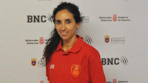 Oihane Ciruelos, nueva entrenadora ayudante del Basket Navarra