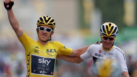Kristoff se lleva la última etapa y Thomas amplía el dominio británico en el Tour
