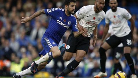 Cesc, con el Chelsea