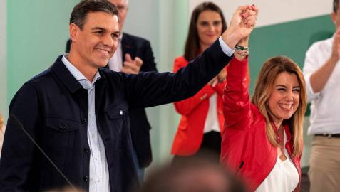 Susana Díaz será proclamada como candidata del PSOE-A acompañada de Sánchez