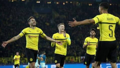 Batacazo del Atlético en Dortmund