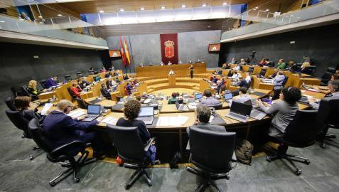 Aprobado el Presupuesto del Parlamento de Navarra para 2019, de 14,5 millones