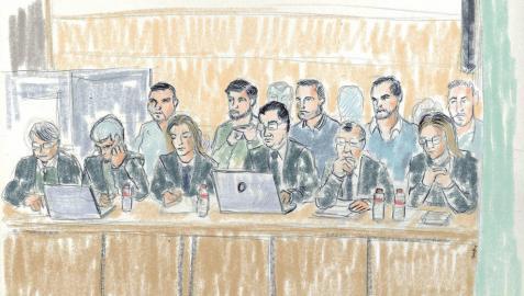 El juicio por la violación queda visto para sentencia: los acusados se declaran totalmente inocentes