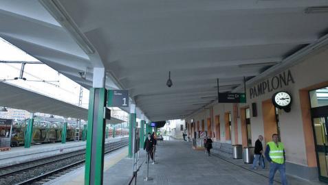 Bildu, Aranzadi e I-E quieren ahora mejorar la estación de San Jorge