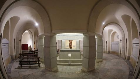 Pamplona pedirá al Arzobispado la devolución de la cripta de los Caídos