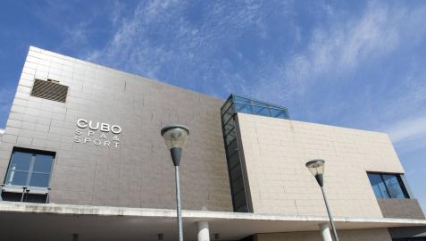 Imagen de archivo de las instalaciones de la pista de hielo y el gimnasio-balneario en Itaroa, Huarte.