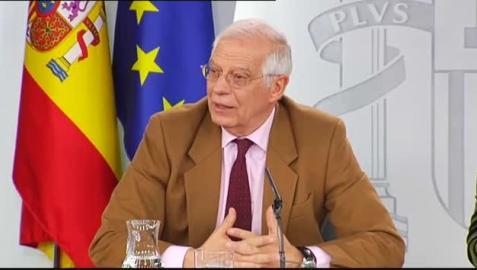 Borrell pide a Maduro como