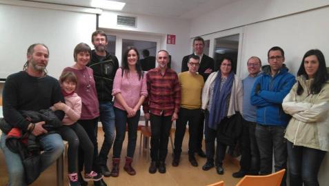Educación informa sobre el nuevo colegio a las familias de Abárzuza y Lezaun