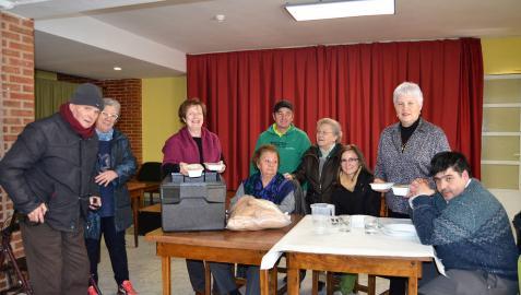 San Adrián pide voluntarios para ayudar en el comedor de mayores