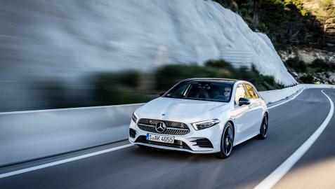 El Mercedes-Benz Clase A, coche de 2018 en Diario de Navarra