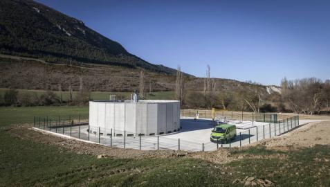 Monreal cuenta con una nueva estación depuradora de aguas residuales
