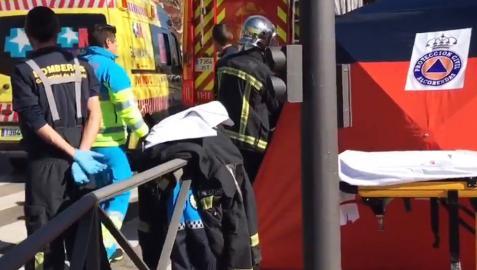 Muere una mujer de 72 años arrollada por una furgoneta en Alcobendas