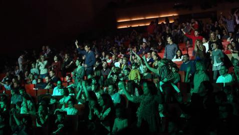 El público, disfrutando de la pasada edición de Minimusic, en noviembre.