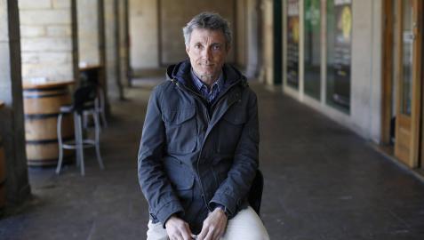 """Ignacio Oficialdegui: """"El frío de la Antártida te come"""""""