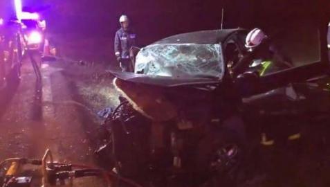 Tres muertos en un choque entre dos vehículos en Pozuelo del Rey
