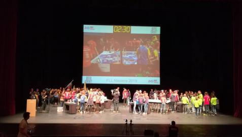 La First Lego League Navarra reúne a 16 equipos