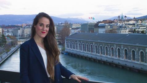 Sandra Chocarro Ocáriz, pasión por la música y los idiomas en Ginebra