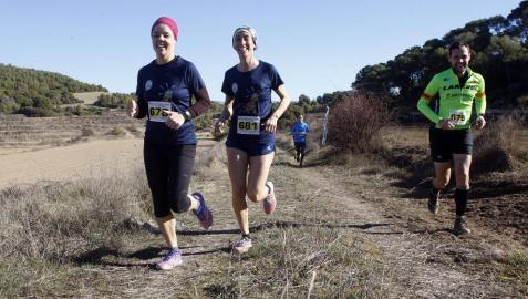 Amatriain y Guembe, primeros ganadores en los 17 kilómetros del Larrate Trail