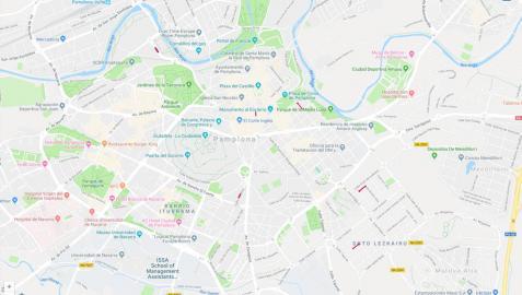 Estas son las alteraciones del tráfico en Pamplona para este lunes