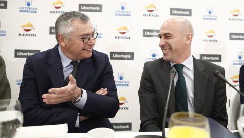 Rubiales pide más sanciones y más duras para los que critiquen a los árbitros