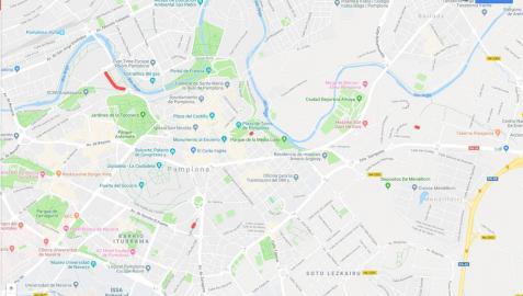 Estas son las alteraciones del tráfico en Pamplona para este martes