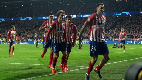 Un gran Atlético devora al Juventus
