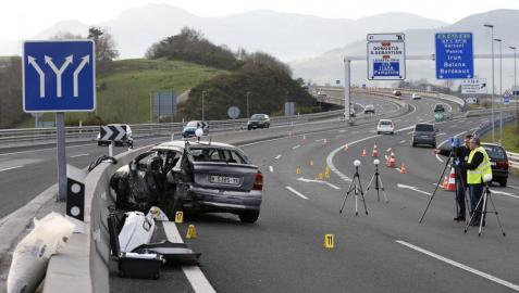Dos muertos y ocho heridos en un accidente de tráfico en Usúrbil (Guipúzcoa)