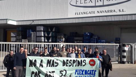 Paros en la empresa Flexngate por el despido de un trabajador