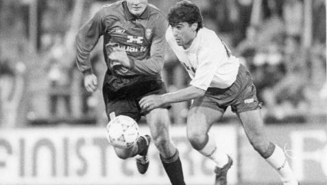 Hace 25 años, un gran Osasuna en su ocaso se rindió al Zaragoza de Víctor