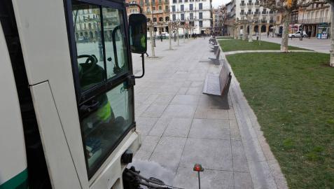 Pamplona adjudicará la limpieza viaria por lotes