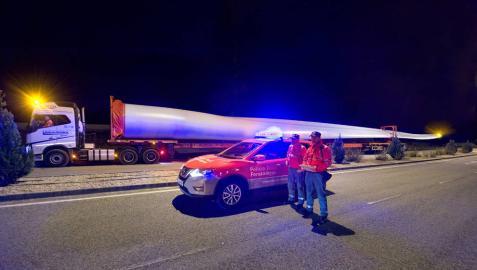 El Gobierno de Navarra aplica medidas para facilitar los transportes especiales