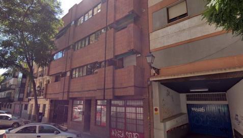 Calle Navacerrada, en Madrid, donde han ocurrido los hechos.