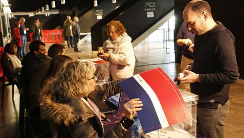 Las urnas en el Navarra Arena despiertan la expectación del osasunismo