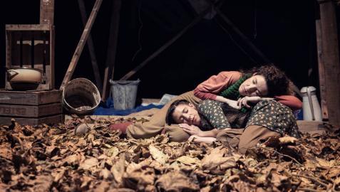 La compañía navarra Yarleku, premiada por su espectáculo 'La casa más pequeña'