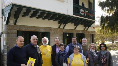 Los Amigos del Camino de Santiago y la Sociedad Hispano Alemana acudieron a las puertas abiertas.