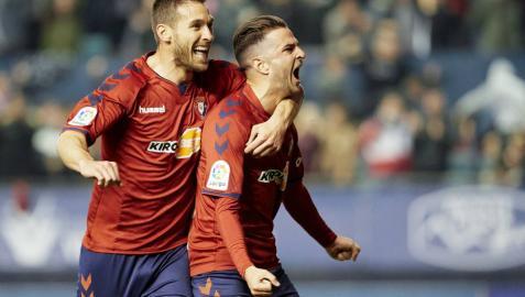 Osasuna, líder en solitario tras el empate sin goles de Málaga y Deportivo