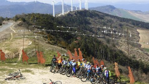 Arranca una semana de sol y temperaturas altas en Navarra hasta el miércoles