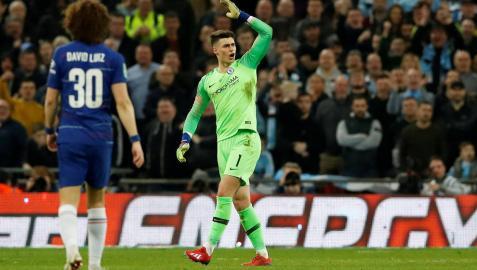 Kepa se niega a salir sustituido en la derrota del Chelsea en la Carabao Cup