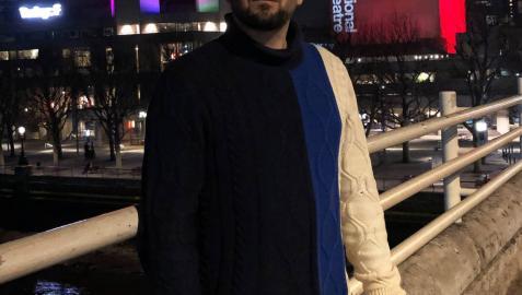 Un pamplonés, uniendo las finanzas y el teatro en Londres