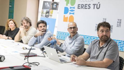 La nueva imagen corporativa de Tudela tiene al río como protagonista