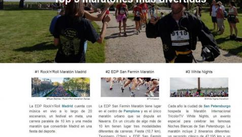 El EDP San Fermín Marathon, entre las 'maratones más divertidas'