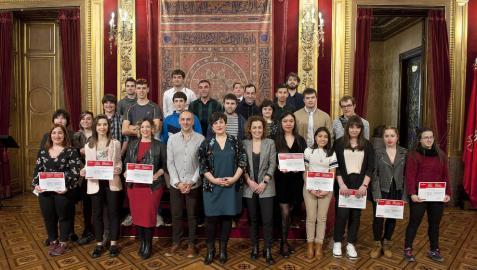La consejera Solana entrega los Premios de FP a 27 estudiantes