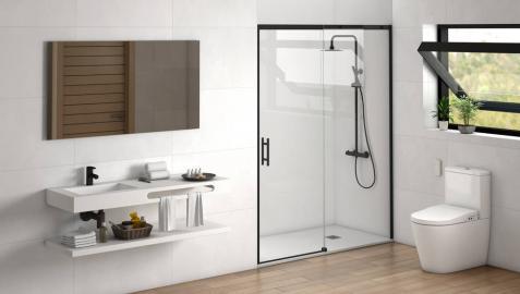 Cambiar de bañera a ducha para lograr un baño más seguro y accesible