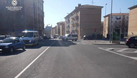 Imputado un conductor en Pamplona tras dar 0,98 mg/l en la prueba de alcoholemia