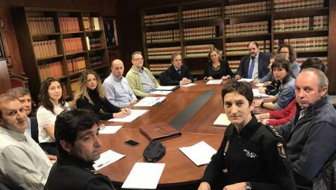 Constituida la Comisión contra la violencia de género en Navarra