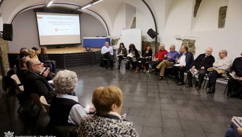 Pamplona trabaja en un Plan de Acción para personas mayores de 65 años
