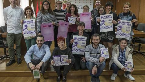 Colectivos y concejales apoyaron la celebración de diversos actos en torno al 8-M.