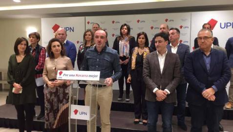 UPN irá en coalición con el PP a las elecciones generales, al Parlamento de Navarra y a los ayuntamientos